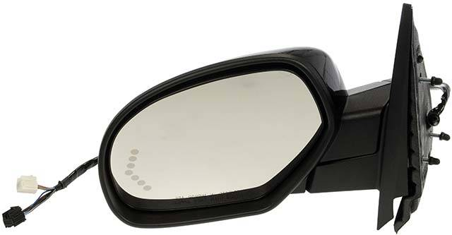 for Chevrolet Suburban|Gmc Yukon XL Power Operated Heated Folding Side Door View Mirror 2007 2008 2009 2010 2011 Driver Left Side Replacement