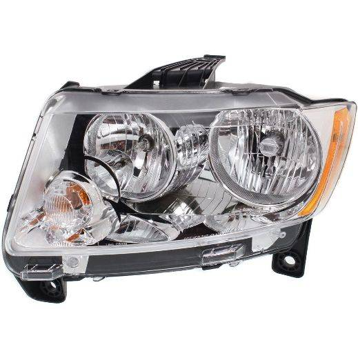 2011 2013 Grand Cherokee Headlight Pair