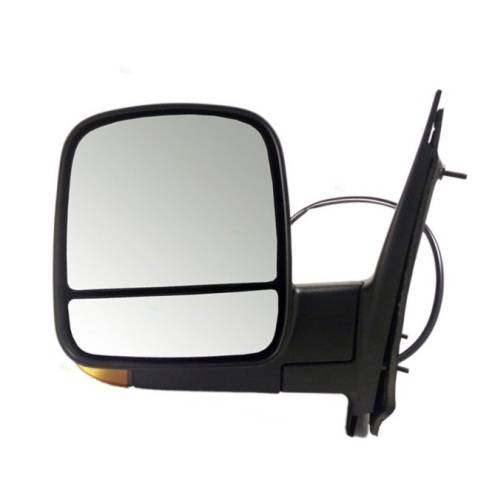 Power Heated Folding Textured Right Side Mirror For 08-17 Chevrolet Express 2500