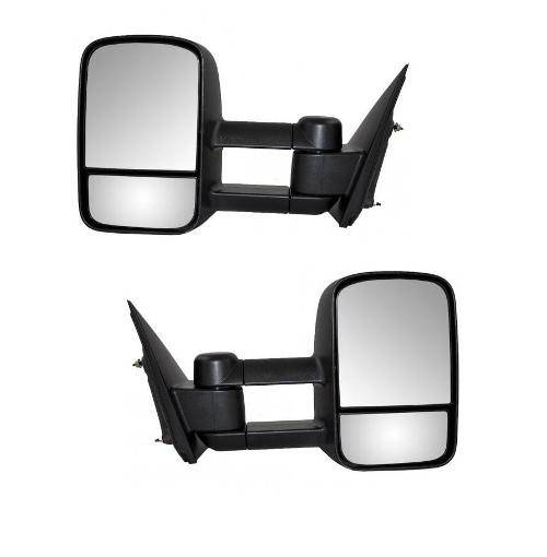 2014 2016 silverado tow mirrors manual pair. Black Bedroom Furniture Sets. Home Design Ideas