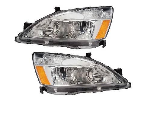 2003 Honda Accord Headlight Wiring Harness : Accord headlights pair