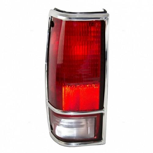 1983-1994 S15 Jimmy Tail Light Chrome Trim