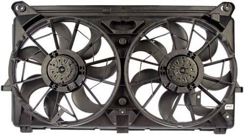 2005 2007 silverado 1500 dual cooling fan. Black Bedroom Furniture Sets. Home Design Ideas