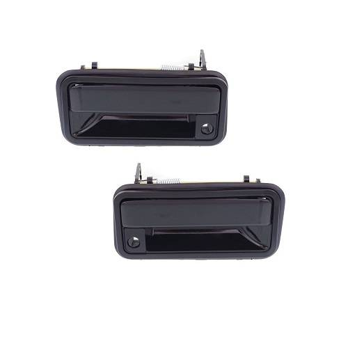 1992 Gmc Rally Wagon 1500 Exterior: 1988-1994 Chevy Pickup Outside Door Pull -Pair Frt