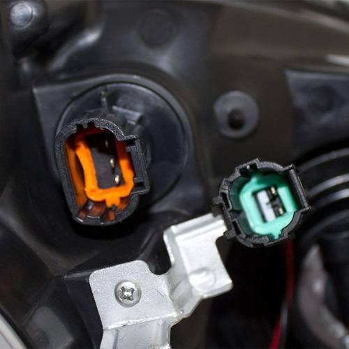 2005 Nissan Altima Headlight Wiring Harness : Altima halogen headlight pair