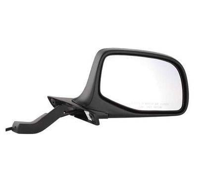 Fits 92 93 94 95 96 Ford F150 F250 F350 Door Mirror Pair Set NEW Manual Black