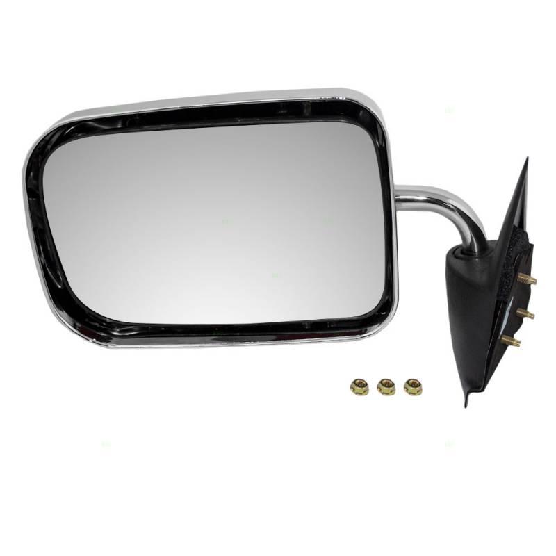 1994-1997 Dodge Pickup Manual Mirror Chrome -L