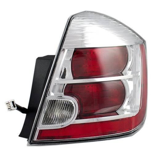 2010-2012 Sentra Tail Light Chrome -R