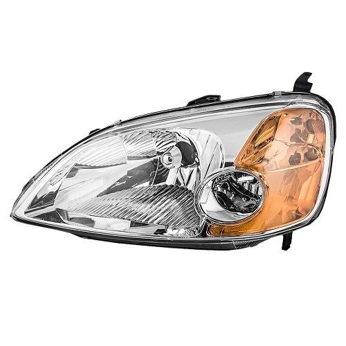 Civic coupe headlight pair