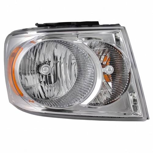 2007 2009 Dodge Durango Headlight Embly New Replacement Stock Headlamp 2008