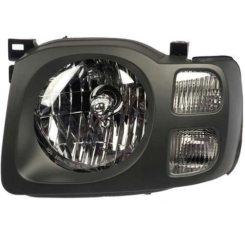 2002-2004 Xterra Xe Headlight Dk Gray