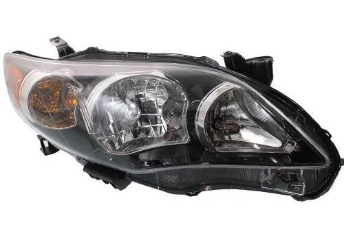 NEW SET 2011 2012 2013 Corolla Headlights Headlamps Light Left+Right 11 12 13