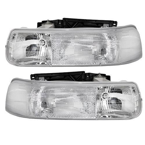 1999 Chevrolet S10 Regular Cab Camshaft: 1999-2002 Silverado Headlights / Park Lights -4 Pc. Set