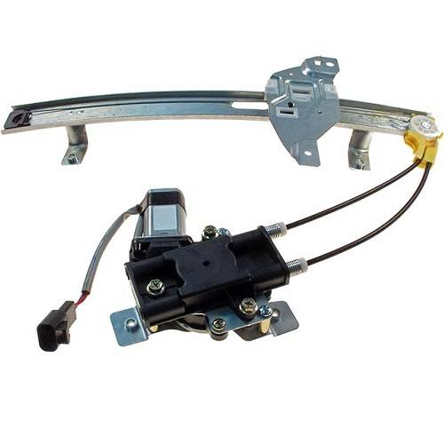 2002 Dodge Caravan Power Window Motor And Regulator Replacement How
