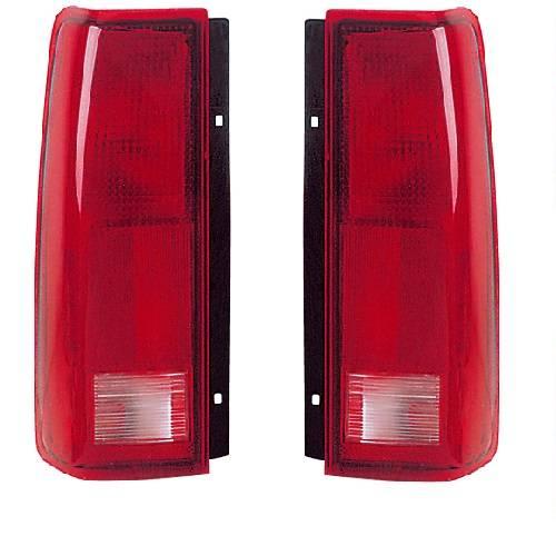 1985-2005 GMC Safari Van Tail Lights -Pair