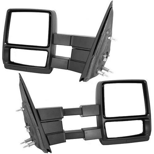 2004 2014 F 150 Manual Tow Mirrors Pair