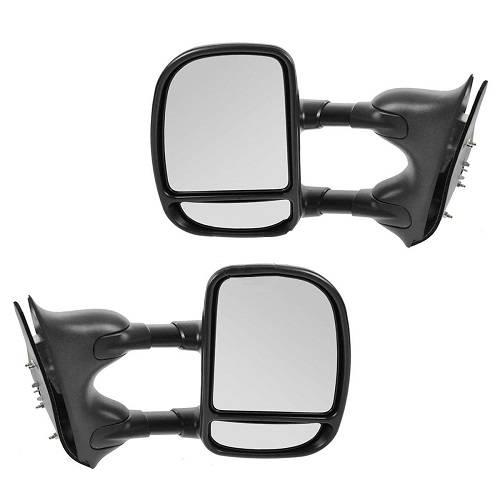 1999-2007* F250 F350 Manual Tow Mirrors -Set