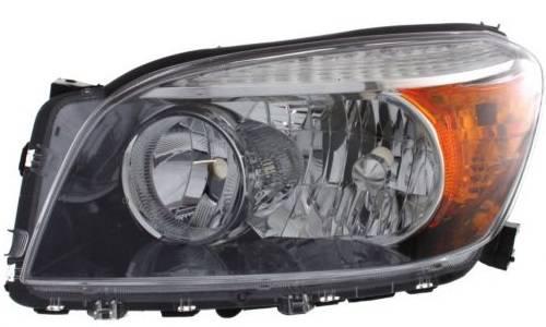 2006 2007 2008 Rav4 Sport Headlight Black