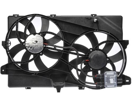 2007 2015 Ford Edge Dual Cooling Fan W O Tow