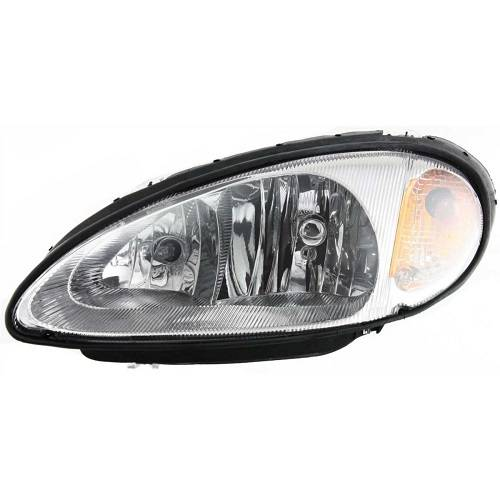 2001 2002 2003 2004 2005 Chrysler Pt Cruiser Head Lamp With Integrated