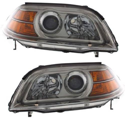 Acura MDX Headlights Pair - 2004 acura mdx headlights