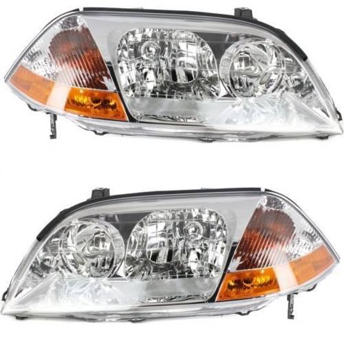 2001 2002 2003 Acura MDX Headlights -Pair