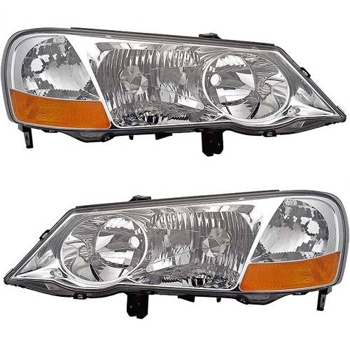 2002 2003 Acura Tl Headlight Emblies