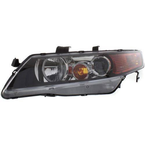 2004-2005 Acura TSX HID Front Headlight Assemblies -Driver