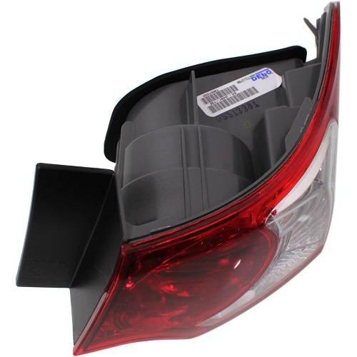2009-2010 Acura TSX Sedan Tail Light -R