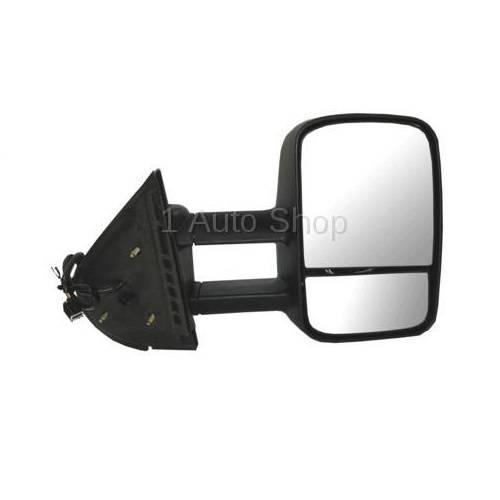 2007*-2014* Sierra Tow Mirror Power Heat -R