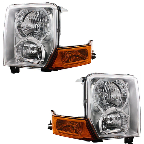 2009 Jeep Commander Exterior: 2006 2007 2008 2009 2010 Pair Of Jeep Commander Front