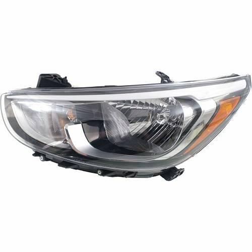2015 2016 2017 Hyundai Accent Front Halogen Headlight