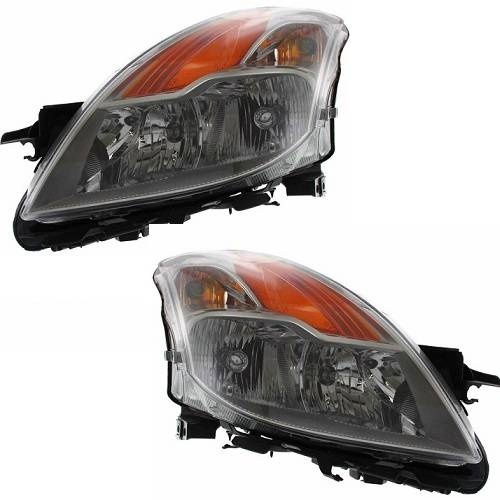 Right Side Halogen Headlight Assembly For 2008-2009 Nissan Altima Coupe