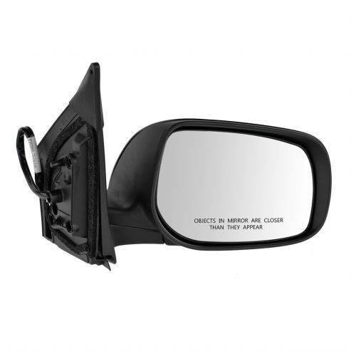 NEW WHITE 2009-2013 Corolla Right Passenger Door Mirror Power Heated