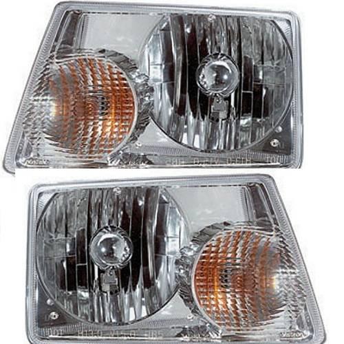 2001 2011 ford ranger headlight lens driver and passenger set usd