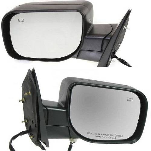 2005 2015 Armada Side View Door Mirrors Power Heat Textured Driver And Passenger Set