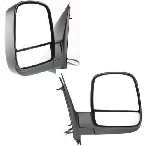 2 Pair Power Heat Folding Signal Mirror Fits 2009 12-13 Chevrolet Express 2500