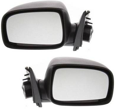 Driver Side for Chevrolet Colorado GM1320286 2004 to 2012 New Mirror