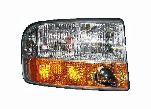 1998 2004 Gmc Sonoma 98 01 Jimmy Headlight Embly W Fog Lamps