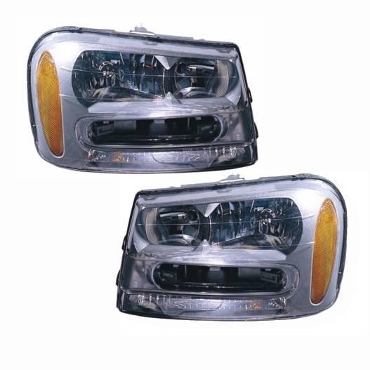 2002-2009 Trailblazer Headlights -Pair