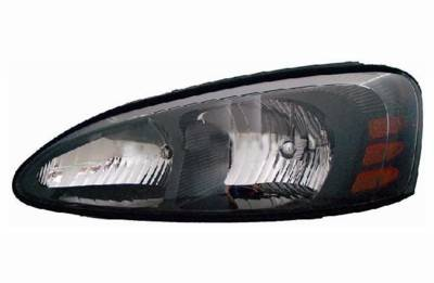 2004 2005 2006 2007 2008 Grand Prix Headlamp Embly Built To Oem Brand New Replacement