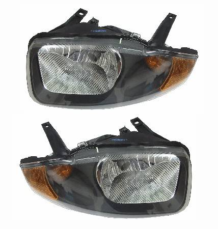 2003 2005 cavalier headlight lens pair. Black Bedroom Furniture Sets. Home Design Ideas