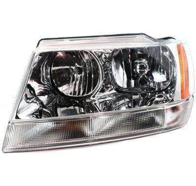 1999 2004 Jeep Grand Cherokee Limited Headlight 2000 2001 2002