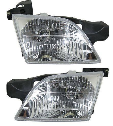 1999 2005 Pontiac Montana Headlights 2000 2001 2002 2003