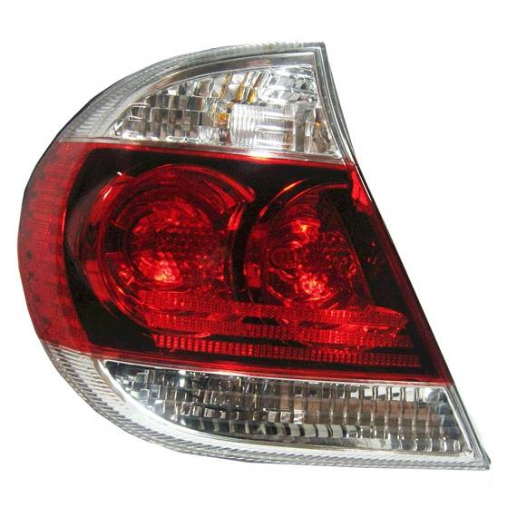 2005 2006 camry se tail light black trim left. Black Bedroom Furniture Sets. Home Design Ideas