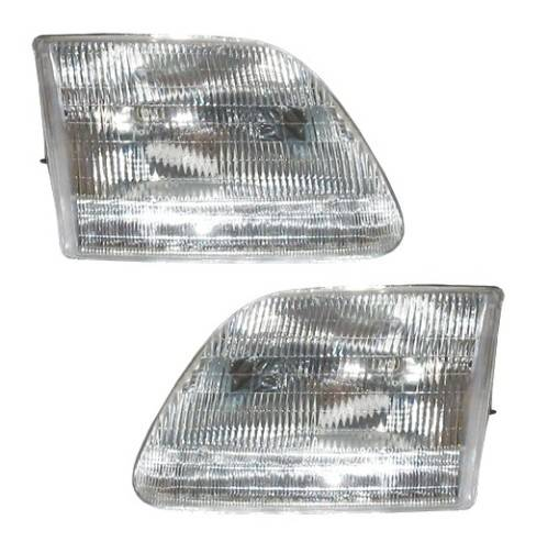 1997 2003 f150 headlights pair. Black Bedroom Furniture Sets. Home Design Ideas