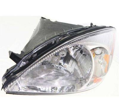 2000 2007 Taurus Headlight Chrome Bezel L