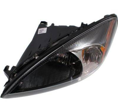 2000 2007 taurus headlight black bezel set