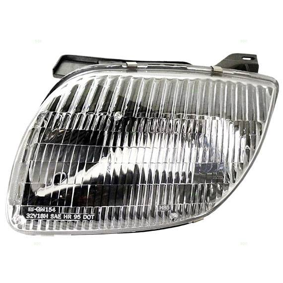 1995 2002 sunfire front headlight assembly pair. Black Bedroom Furniture Sets. Home Design Ideas