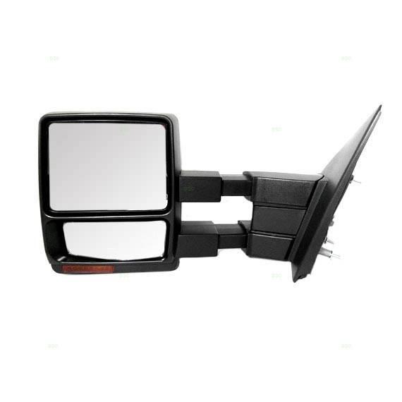 2007-2014 F-150 Power Heat Tow Mirror W/ Signal -Left
